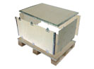 Collapsible plywood box--S type